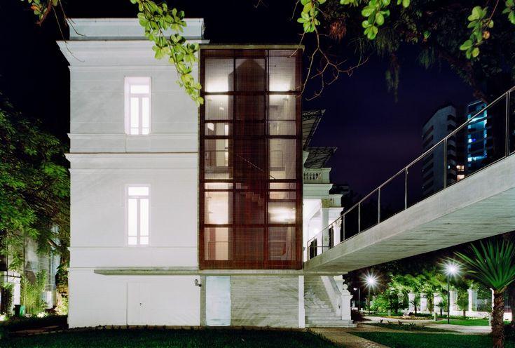 Museu Rodin,em Salvador (BA). Projeto de Brasil Arquitetura. Foto de Nelson Kon.