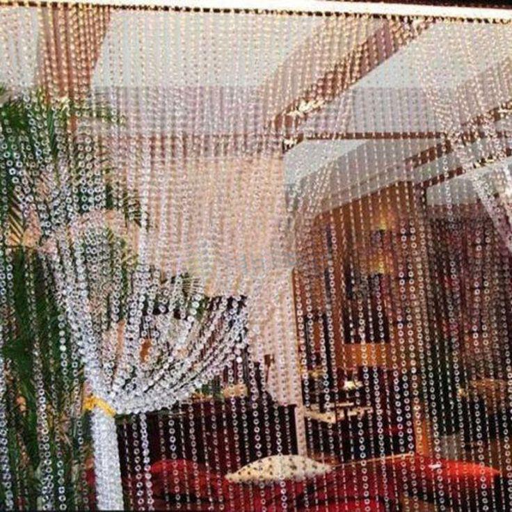 99FT Garland Diamond Strand Acrylic Crystal Bead Curtain Wedding DIY Party Decor in Home & Garden, Wedding Supplies, Venue Decorations | eBay