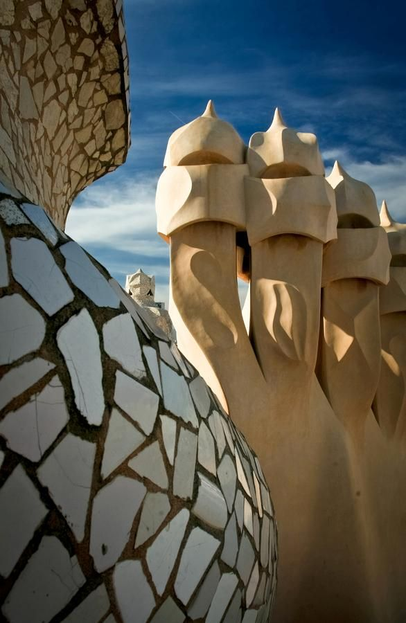 Casa Mila de Gaudi.