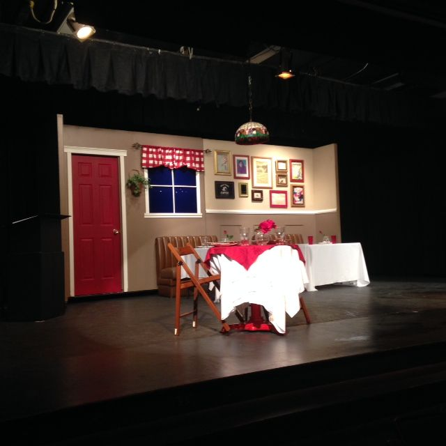 "Tustin High School - ""Check Please"" Stage Set Design"