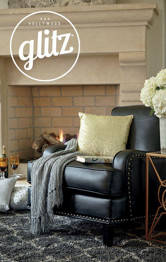 classy home furniture. hollywood glitz laylanne accent chair chic and classy home furniture accessories c