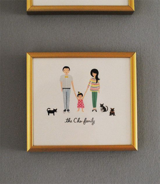 family portrait by Rifle Paper Co.