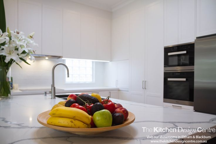 A simple yet classy take on the modern traditional kitchen style. Dulux Natural White teamed beautifully with their Domino both in a satin finish. www.thekitchendesigncentre.com.au @thekitchen_designcentre
