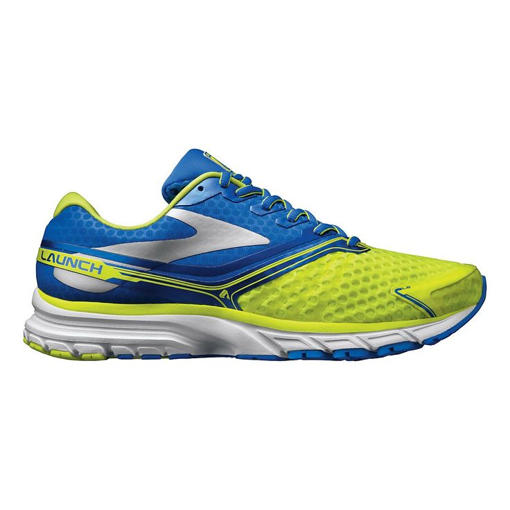 Rocket your runs right into the stratosphere with this lightweight, out-of-this world trainer, the Mens Brooks Launch 2