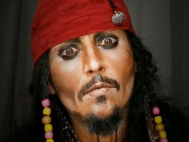 Verrückt, was man mit Make-up alles machen kann. Aussehen wie Johnny Depp, die Queen und Sylvester Stallone etwa. Könnt ihr Original und Fälschung unterscheiden?