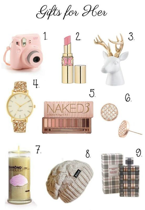 9 Holiday Gifts for Her | @giftryapp