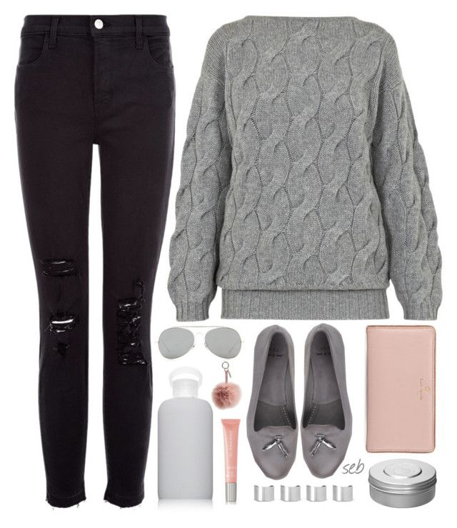 """The Greys pt 3"" by coombsie24 ❤ liked on Polyvore featuring moda, bkr, Hermès, AV by Adriana Voloshchuk, Acne Studios, n.d.c., J Brand, Kate Spade, Burberry y Maison Margiela"