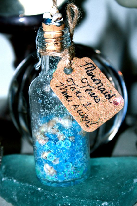 Mermaid Tears  Magic Mermaid Vial  Glow in the dark by chloekisses, $20.00