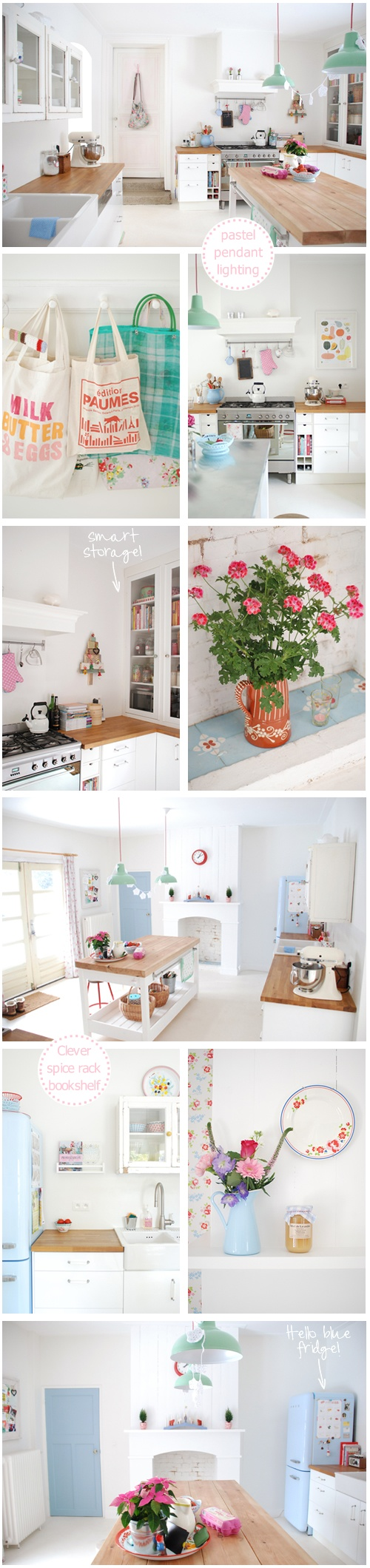 Not sure Kirk would like so much pastel in our home but I'm totally obsessed at the minute!