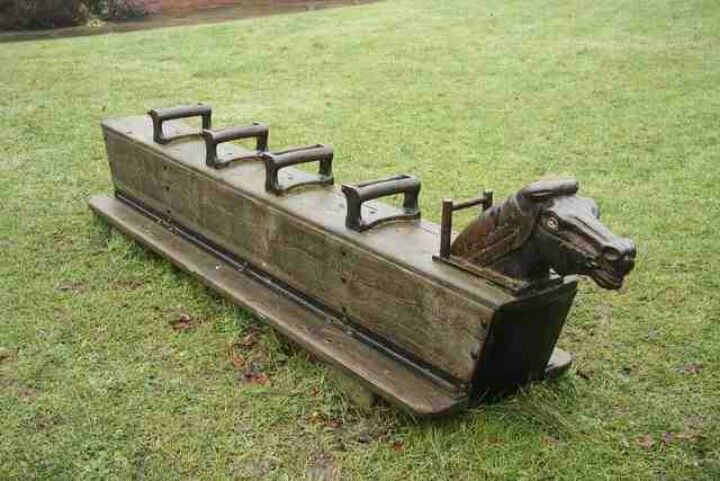 These things were rockin in the old playgrounds of the 70's and 80's! Loved these too - we could REALLY get it rocking.