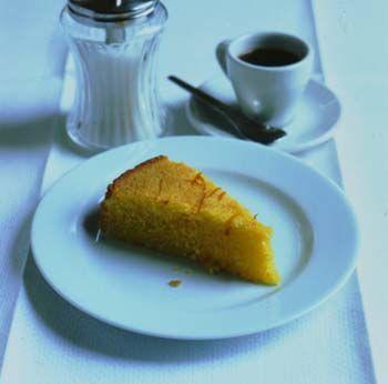 Semolina citrus cake