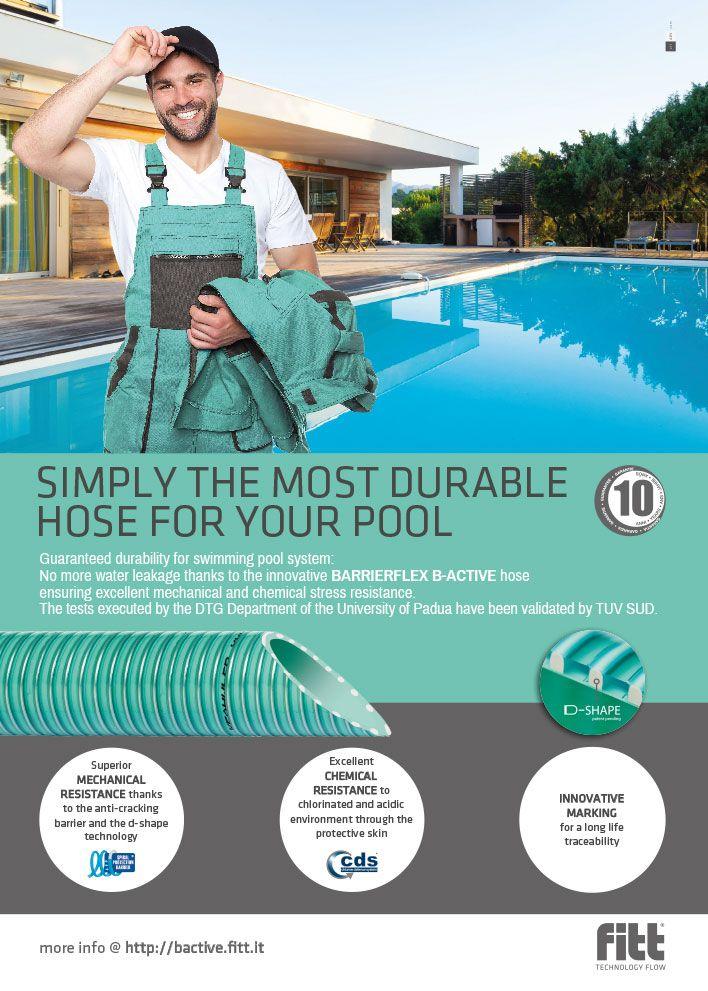 Campagna pubblicitaria Fitt, creata da #effADV - #advertising campaign created by effADV - #ad #adv #hose #industrialhose #swimmingpool #plastichose #madeinitaly