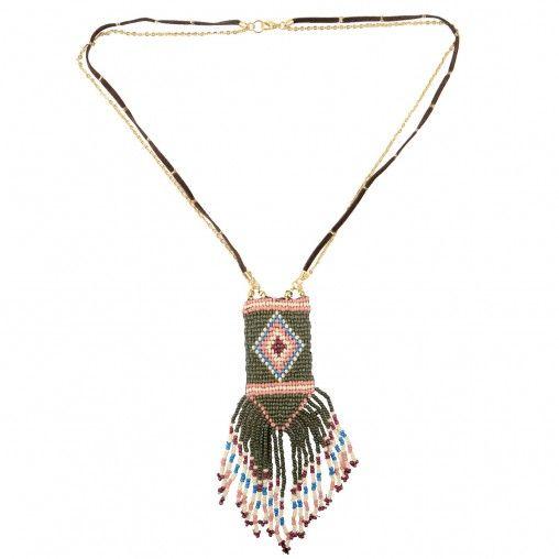 Sacha // aztec necklace € 13,99