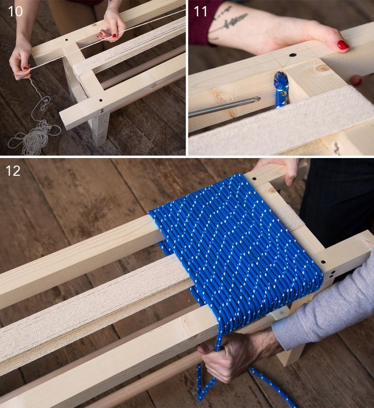 Le Petit banc en corde – DIY »