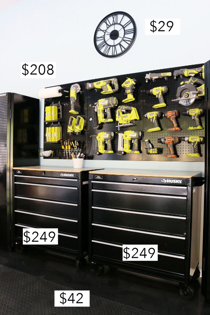 Breaking down the cost of our full garage makeover | Bower Power Blog