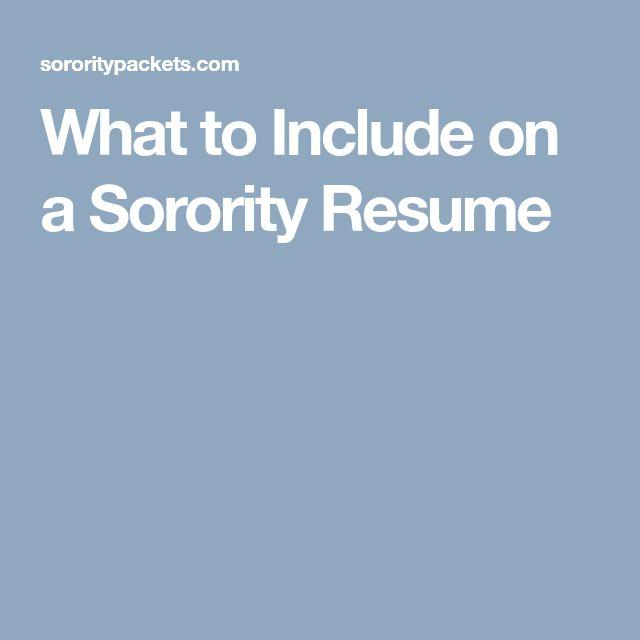The 25+ best Sorority resume ideas on Pinterest Sorority girls - quotes for resumes