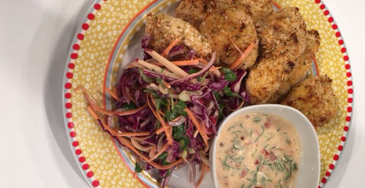 Mark Southon prepares this amazing Crumbed Chicken with Chilli Sauce and Asian Salad. See how you can make it yourself right here on The Café