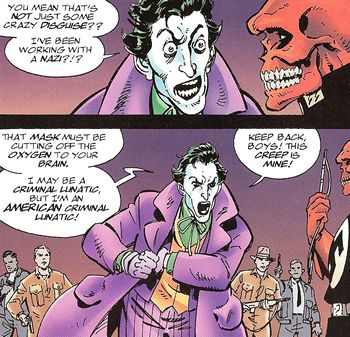 Even the Joker has limits. 'Murica. <<< I've always loved this haha!