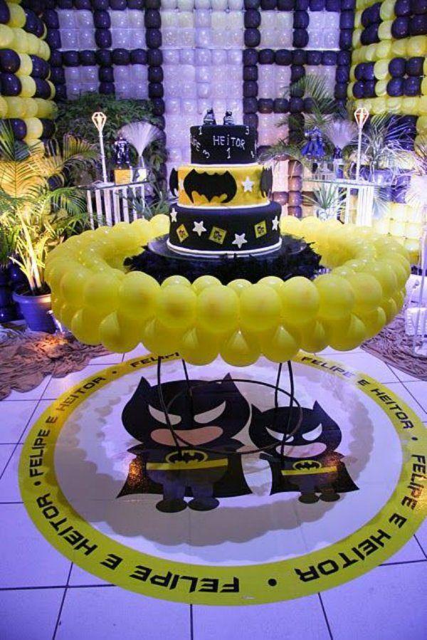 Batman Como Tema De Decoracao De Festa Infantil Festa Batman