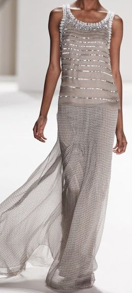 Carolina Herrera - The way I like couture!! simple, elegant - It says so much more.....