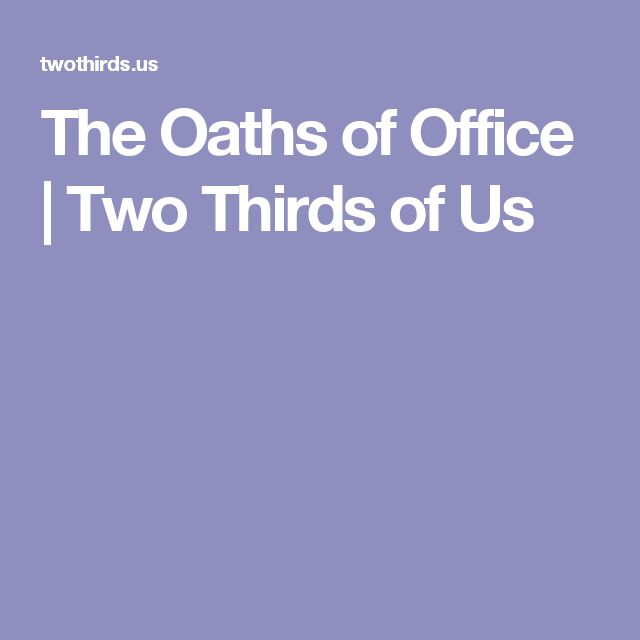 The 25+ best Presidential oath of office ideas on Pinterest - oath of office template