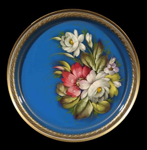 Article A5 :: Zhostovo decorative art manufactory