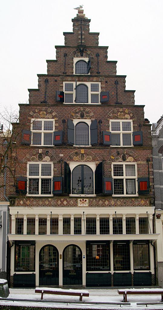 ♥ Alkmaar, huis met de schopjes