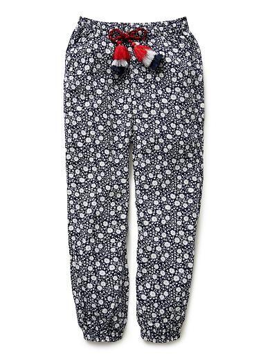 Girls Pants & Leggings | Ditsy Harem Pant | Seed Heritage