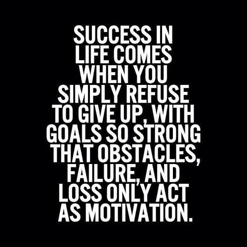 success, life, and quote image http://www.dirtyweights.com/ketogenic-diet/