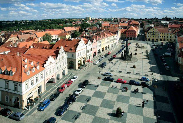 Zatec, city of hops, North Bohemia