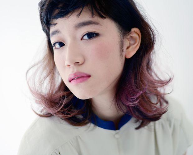 HEAVENS/HOSOI HAIR CATALOG.JP 髪型  ミディアム hair
