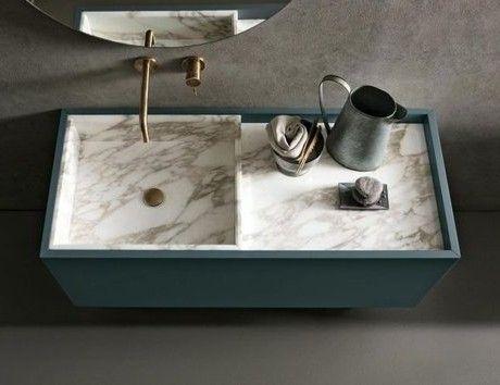 Wastafel uit de collectie Must van de Italiaanse designer Altamarea | waskom | washstand | washtub | badkamer | bathroom | design | interiordesign | interieurdesign | wonen | living