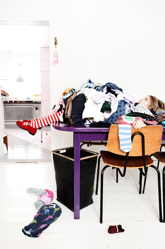 laundry day at my house - I can relate!
