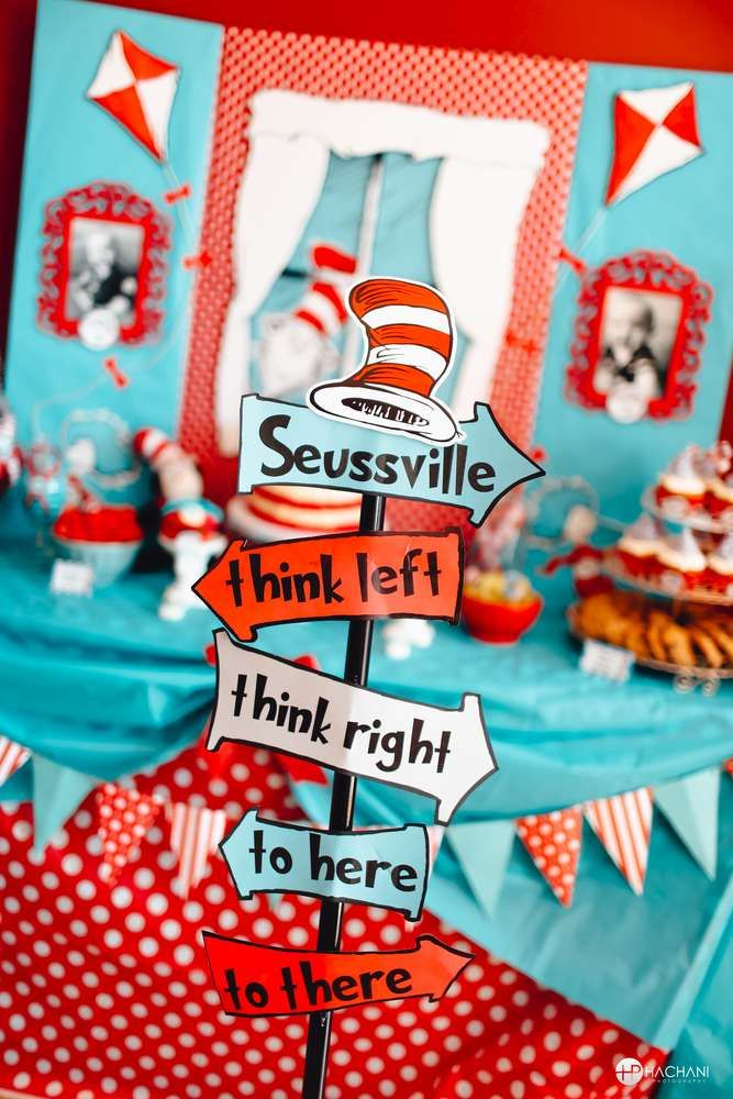 270 best dr. seuss party ideas images on pinterest | birthday, Birthday invitations
