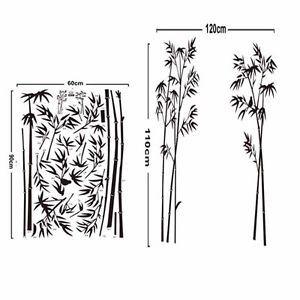 Hagalo-usted-mismo-de-bambu-con-forma-de-etiquetas-de-pared-calcomania-Mural-extraible-Decoracion