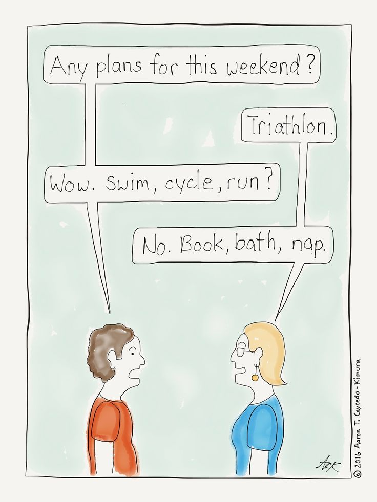 What are you doing this weekend? Introvert Cartoon from http://infjoe.wordpress.com.