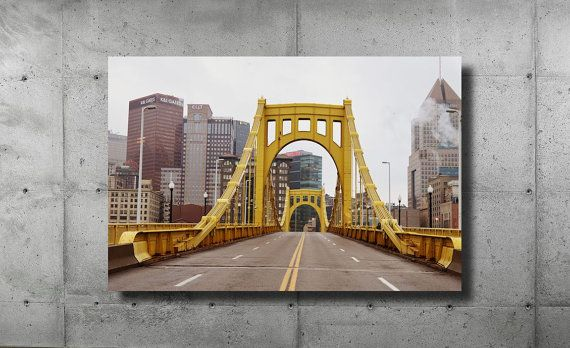 Roberto Clemente Bridge Pittsburgh PNC Park by HotSausDesign