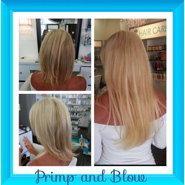 23 best hair extensions dream catchers images on pinterest primpandblow client before and after hair extensions we guarantee the hair for 2 years pmusecretfo Choice Image