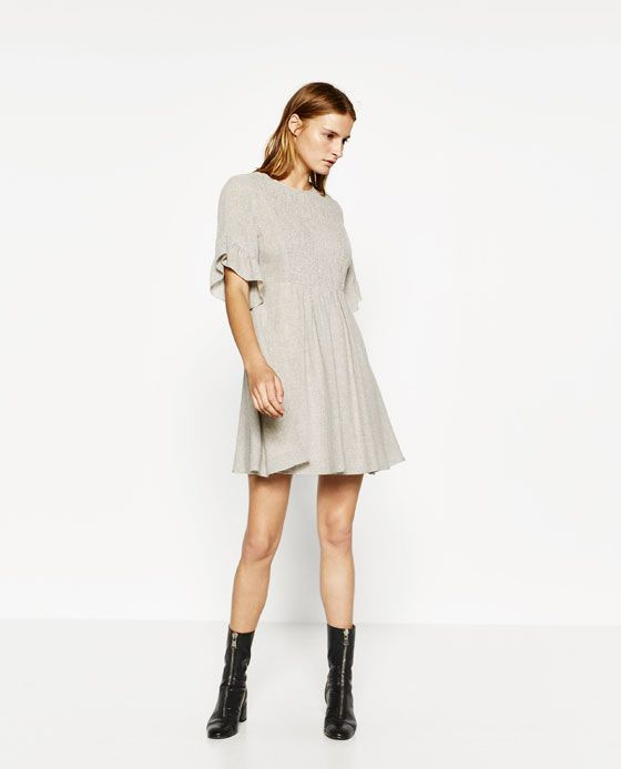 Image 1 of SHIMMER THREAD DRESS from Zara