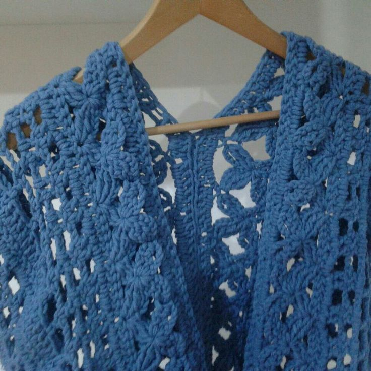 Rebeca calada a crochet