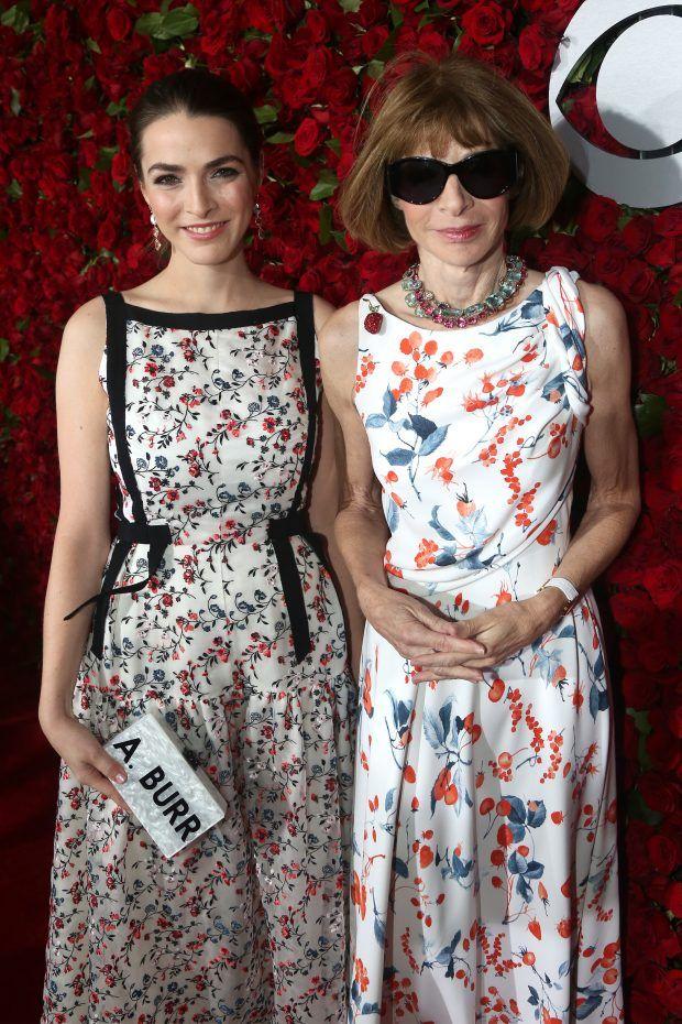 アナウィンターは娘と花柄旬ワンピトニー賞に見る2大トレンド