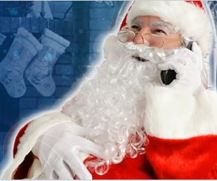 Live Phone Calls From Santa, as seen on the today show!   http://www.santaspeaking.com/