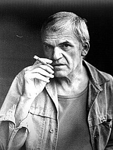 <3 MILAN KUNDERA: Together with Franz Kafka, Milan Kundera is one of my favorite writers of all time.