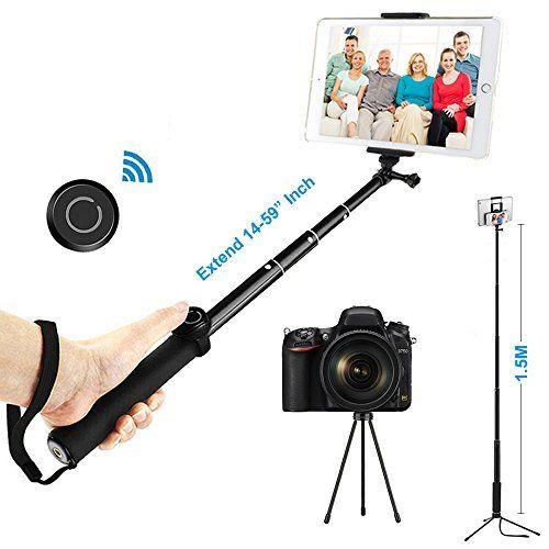 Selfie Stick Einbein Stativ Kits, ohCome [Battery Frei] Wired Hand Aluminium Einbeinstativ mit Stativ f¨¹r Tabletten innerhalb von 7-10 Zoll (with Bluetooth Remote) #Selfie #Stick #Einbein #Stativ #Kits, #ohCome #[Battery #Frei] #Wired #Hand #Aluminium #Einbeinstativ #f¨¹r #Tabletten #innerhalb #Zoll #(with #Bluetooth #Remote)