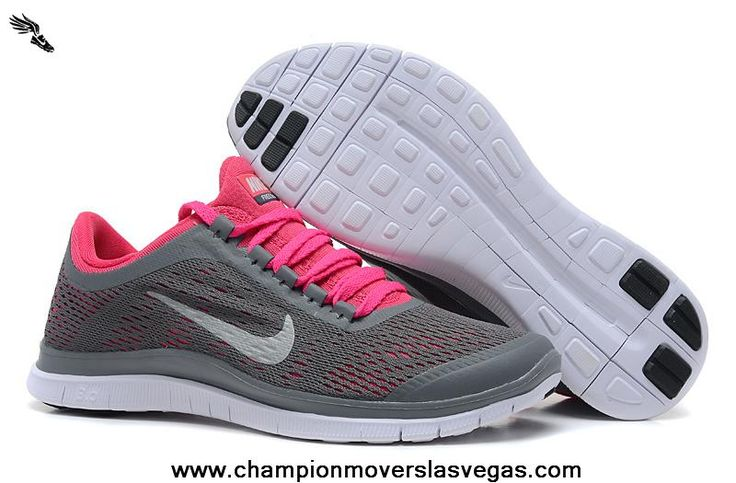 New 580392-016 WMNS Nike Free 3.0 V5 2014 New Shoes Dark Grey White Pink Force