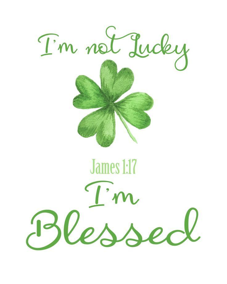 St. Patrick's Day Free Printable - I'm Not Lucky, I'm ...