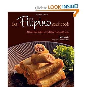 Filipino cookbook by Miki Garcia