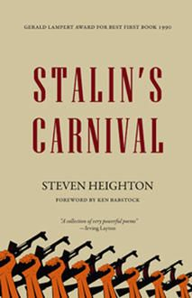 A Super Stalin + Stalin's Carnival by Steven Heighton (Palimpsest Press): Excerpt and cocktail pairing
