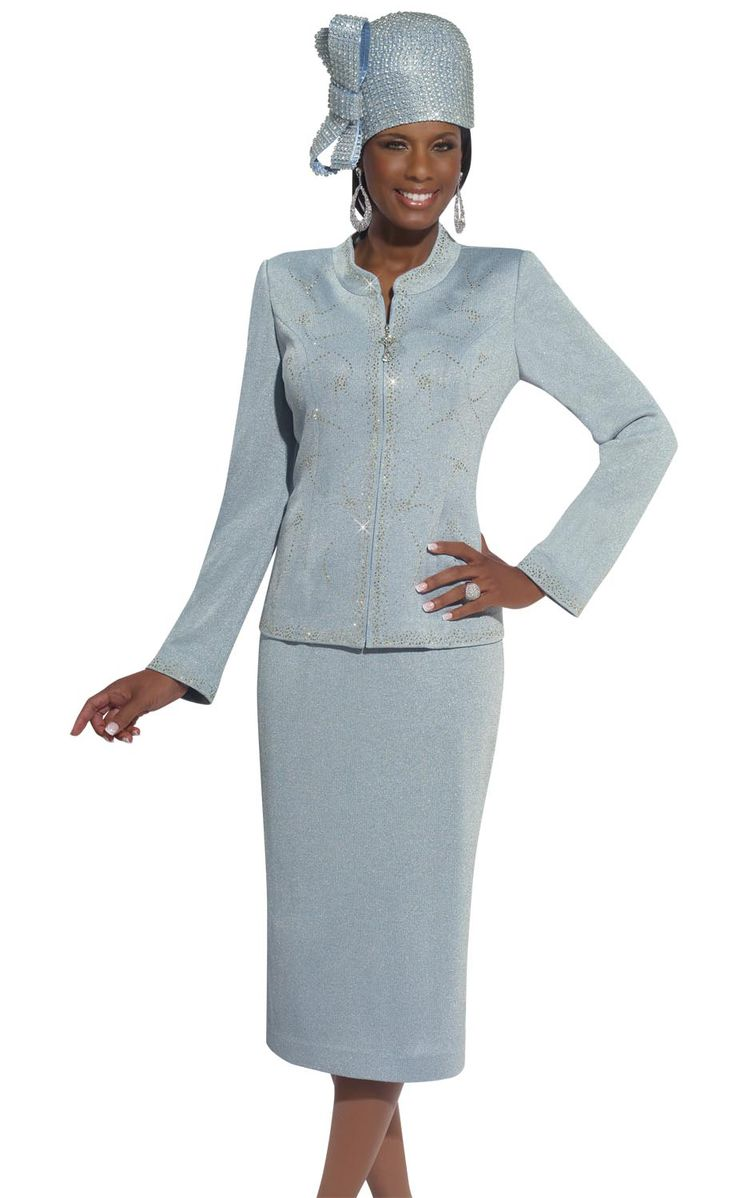 2014 First Lady Women S Church Suits Metallic Lurex