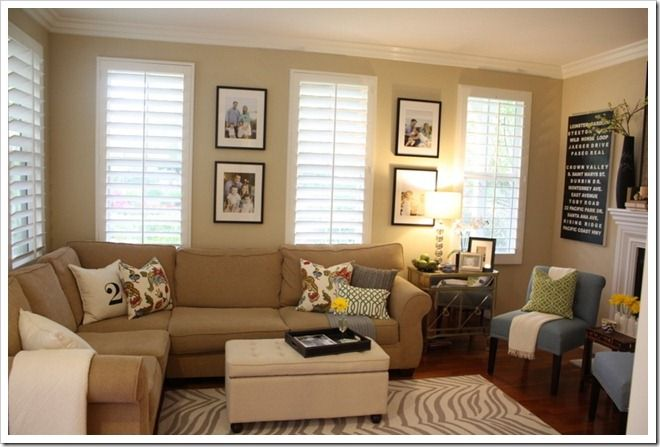 Warm cozy living rooms for Cozy living room colors